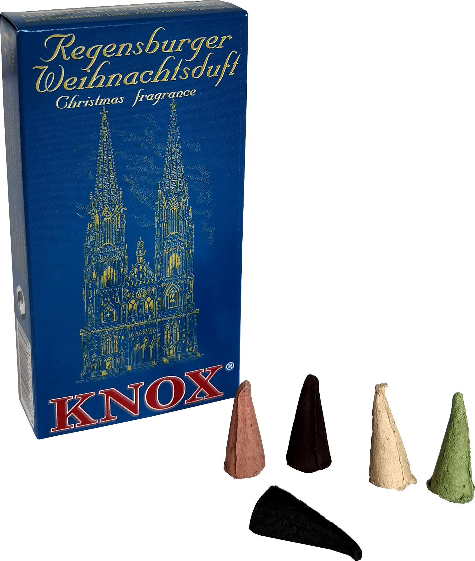 KNOX Räucherkerzen - Städteduft - Regensburger Weihnachtsduft