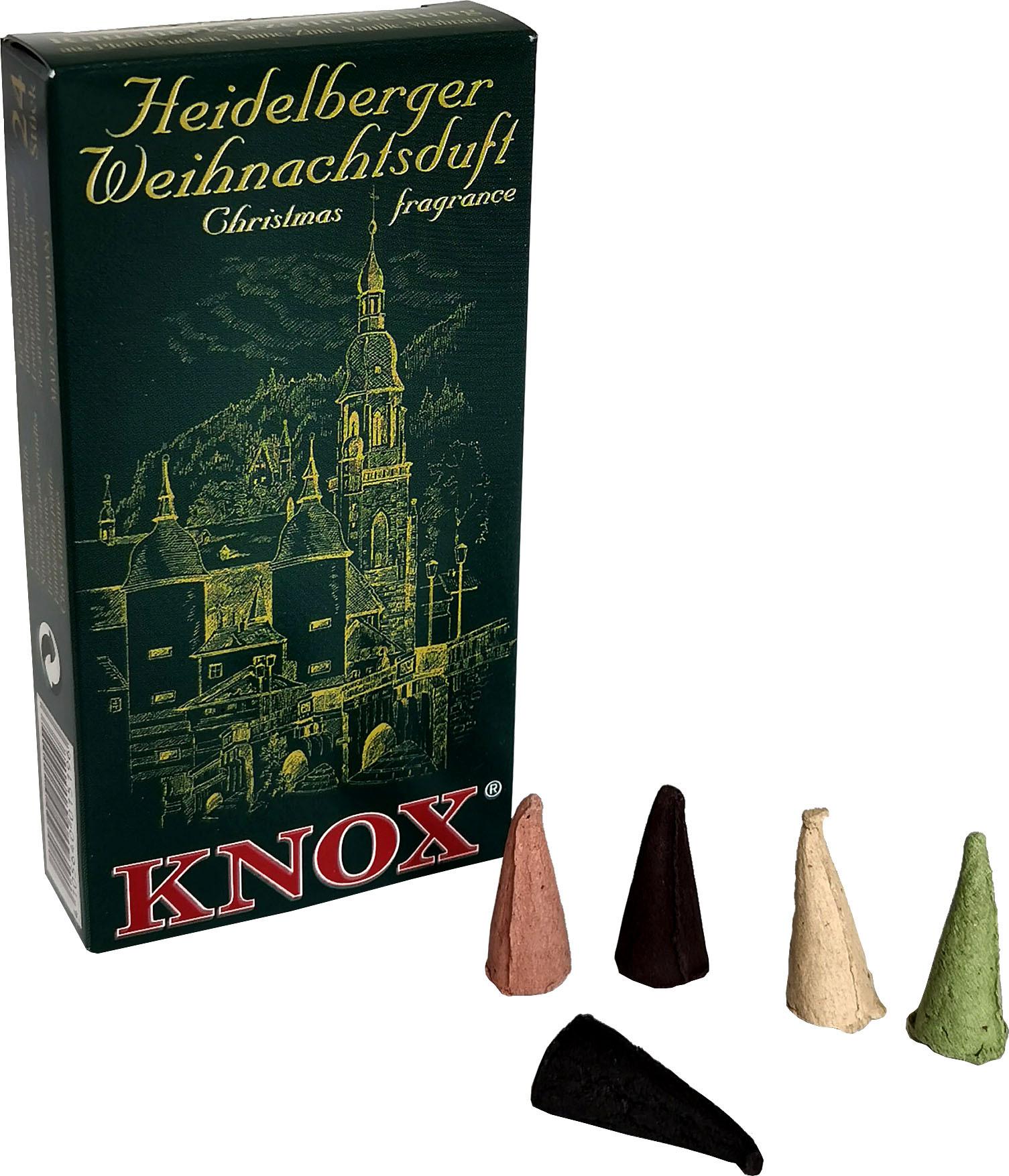 KNOX Räucherkerzen - Städteduft - Heidelberger Weihnachtsduft