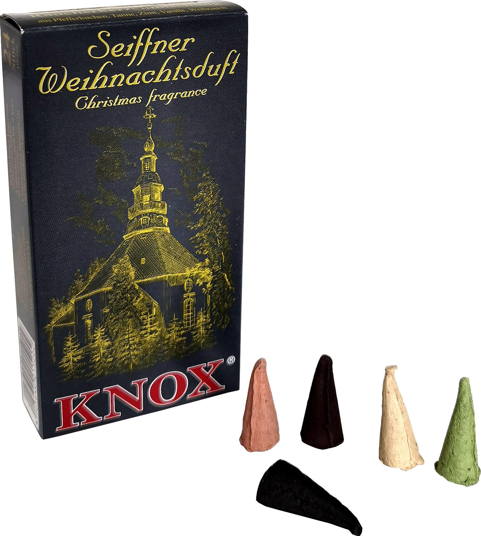 KNOX Räucherkerzen - Städteduft - Seiffner Weihnachtsduft
