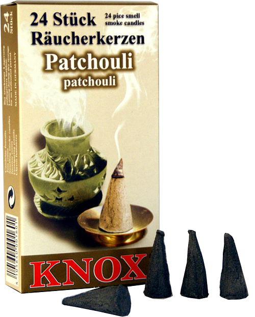 KNOX Räucherkerzen - Patchouli