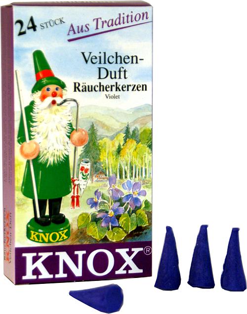 KNOX Räucherkerzen - Veilchenduft