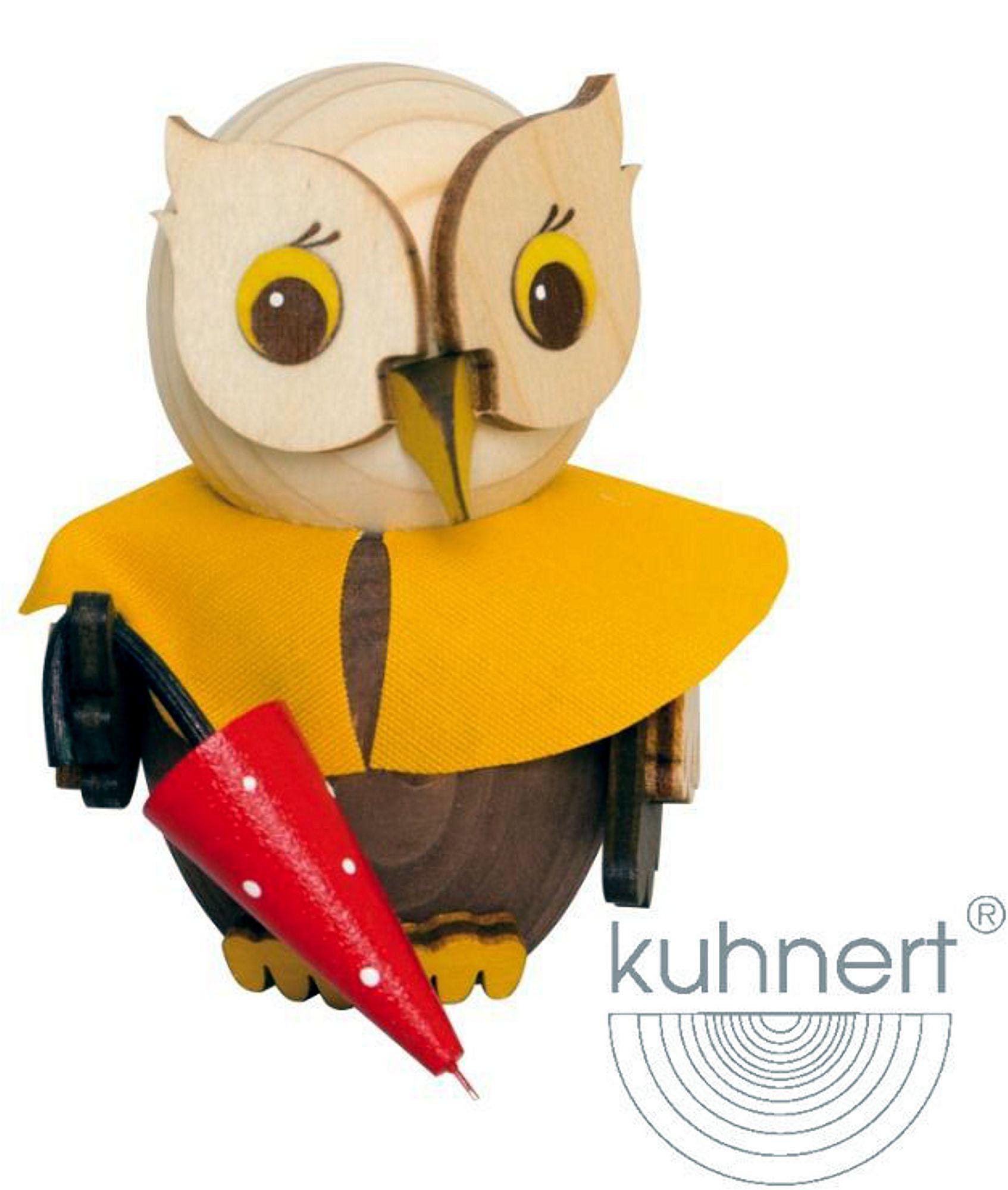 Drechslerei Kuhnert Mini-Eule mit Regenschirm