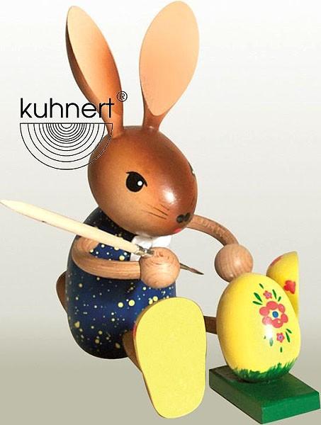 Drechslerei Kuhnert Hasenmaler mit Ei
