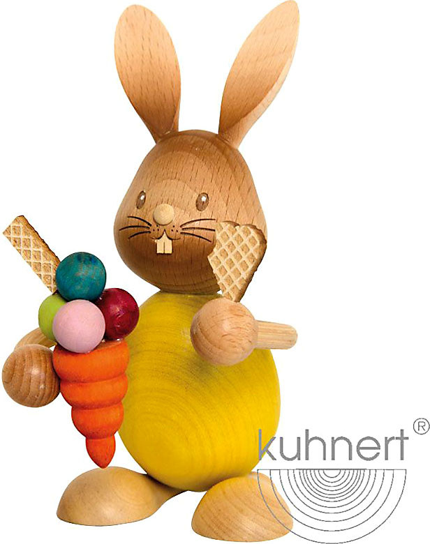 Drechslerei Kuhnert Stupsi Hase mit Eis