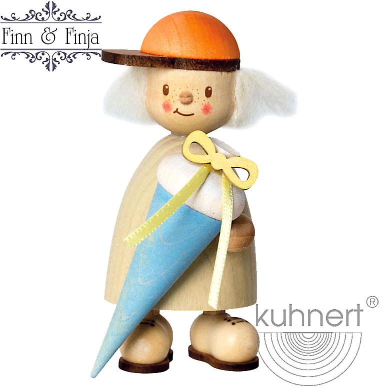 Drechslerei Kuhnert Finn als Schulanfänger