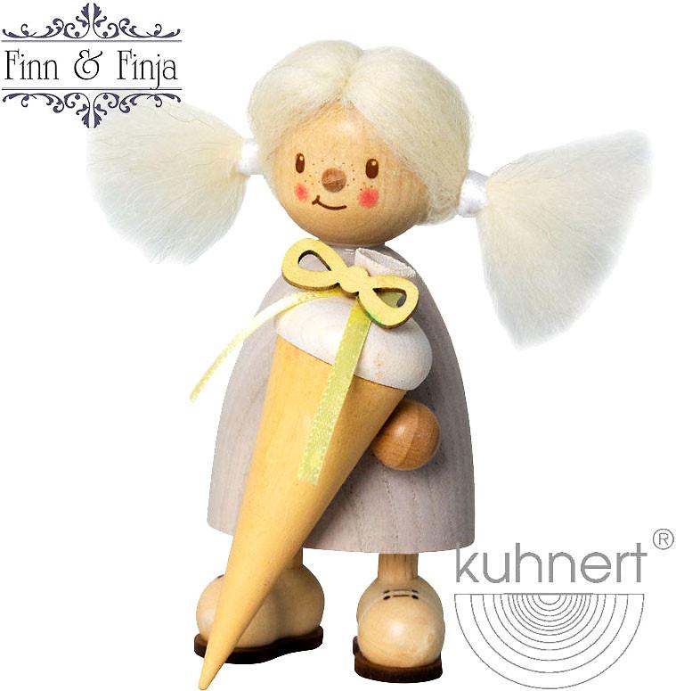 Drechslerei Kuhnert Finja als Schulanfängerin