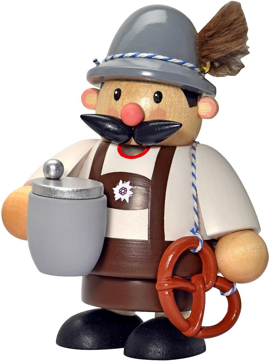 KWO Räuchermännchen Bayer mini -Kleine Kerle-