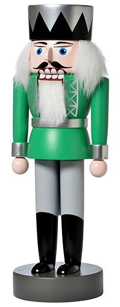 nutcracker king, green