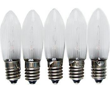 LED Spitzkerzen im 5er Pack 8V - 55V