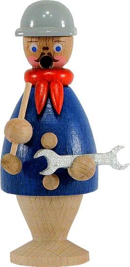 HoDreWa Legler Miniatur-Räuchermann Schlosser