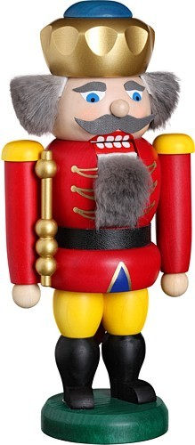 nut cracker king, red