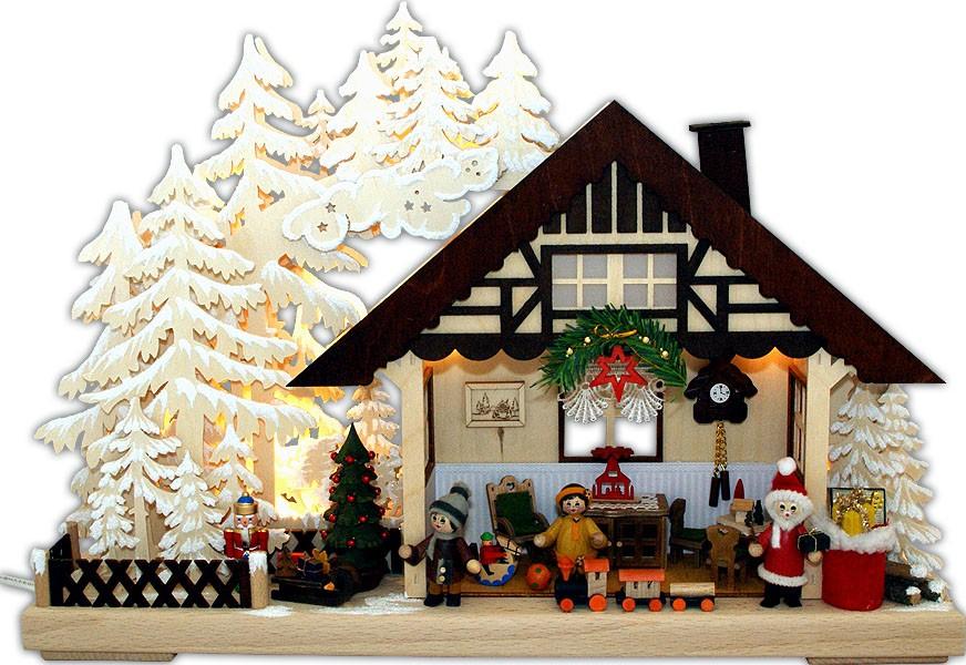 RATAGS Holzdesign 3D-Schwibbogen Weihnachten, klein