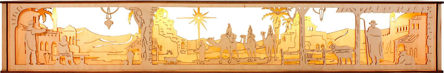 rauta Unterbau für Schwibbogen - Bethlehem