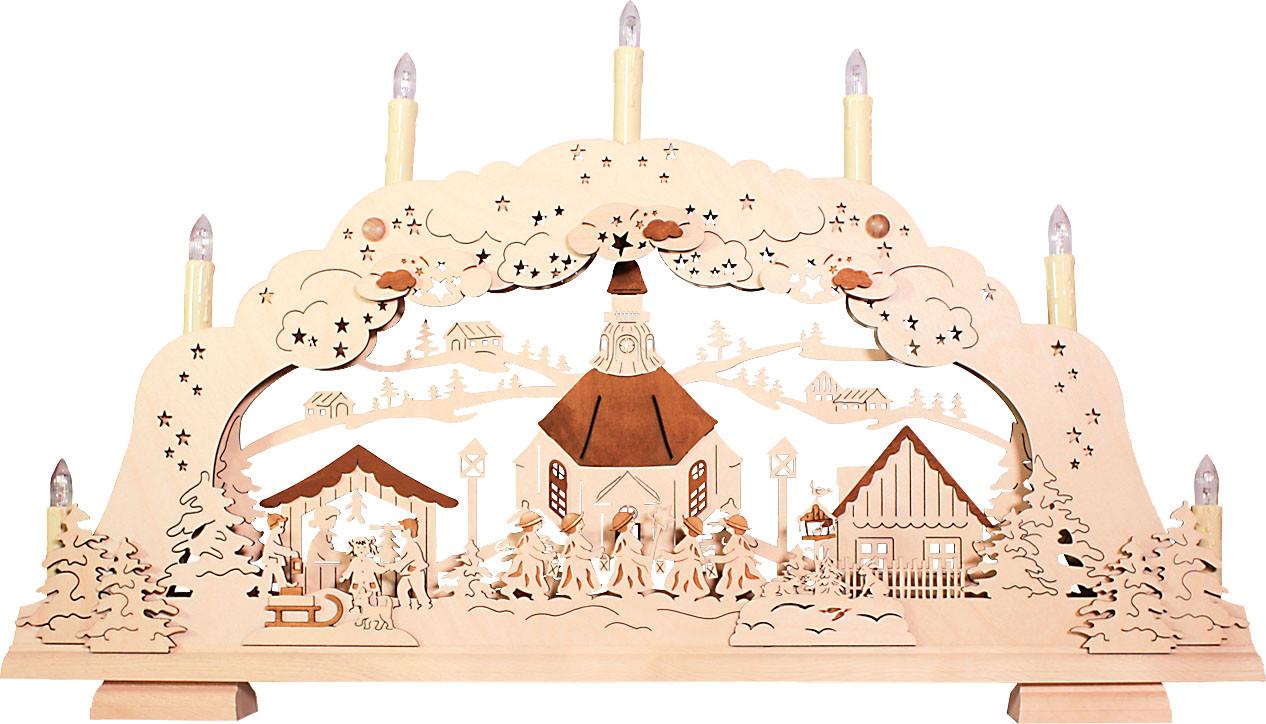 rauta Schwibbogen Seiffener Kirche