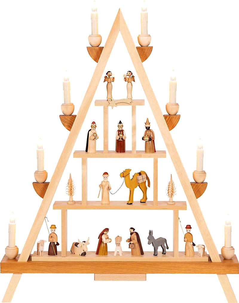 Richard Glässer Lichterspitze Christi Geburt