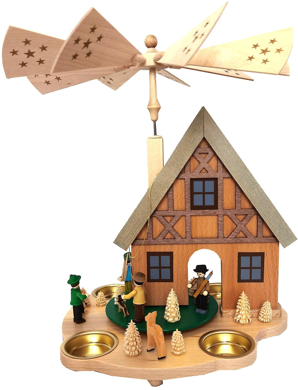 Richard Glässer Tischpyramide Haus Forsthaus