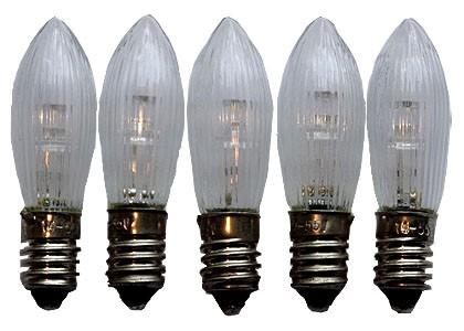 LED Spitzkerzen im 5er Pack 8-34 Volt