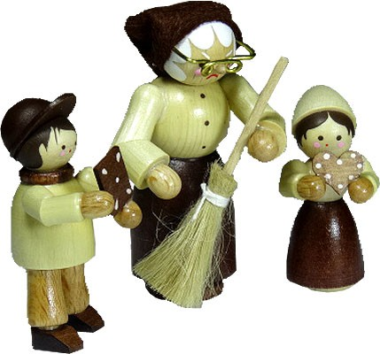 Romy Thiel Hänsel, Gretel & Hexe - natur