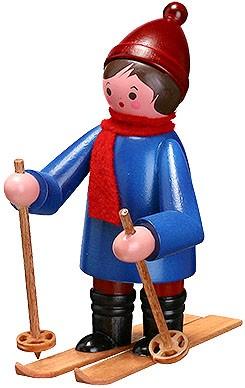Romy Thiel Skifahrer , groß - blau