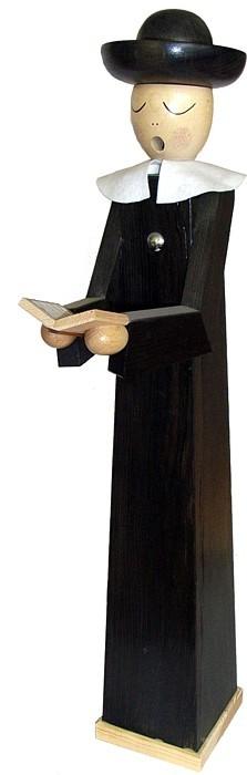 ArtDesign Riesen - Räuchermann Kurrendesänger mit Buch- extra groß