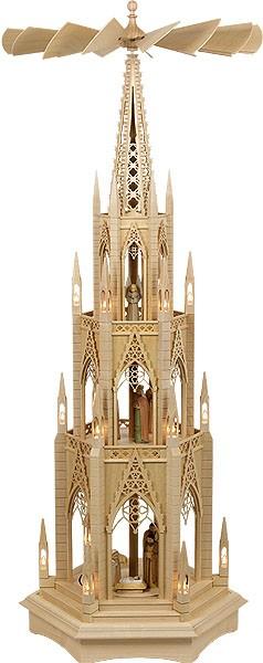 cathedral pyramid, manger, electrical, 3-storeyed