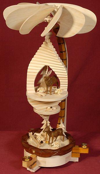 Holzkunst Müller Pyramidenspirale, Deluxe