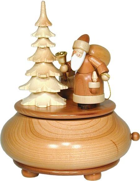 Christian Ulbricht Spieldose natur Weihnachtsmann