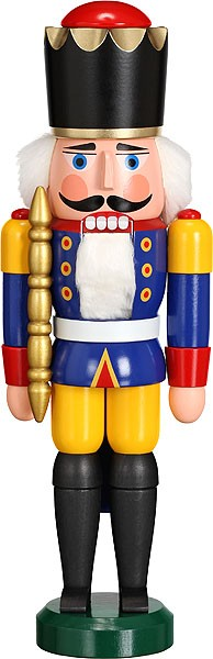 nutcracker king blue