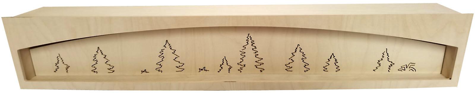 Taulin Schwibbogen-Untersatz, unbeleuchtet - 84 cm