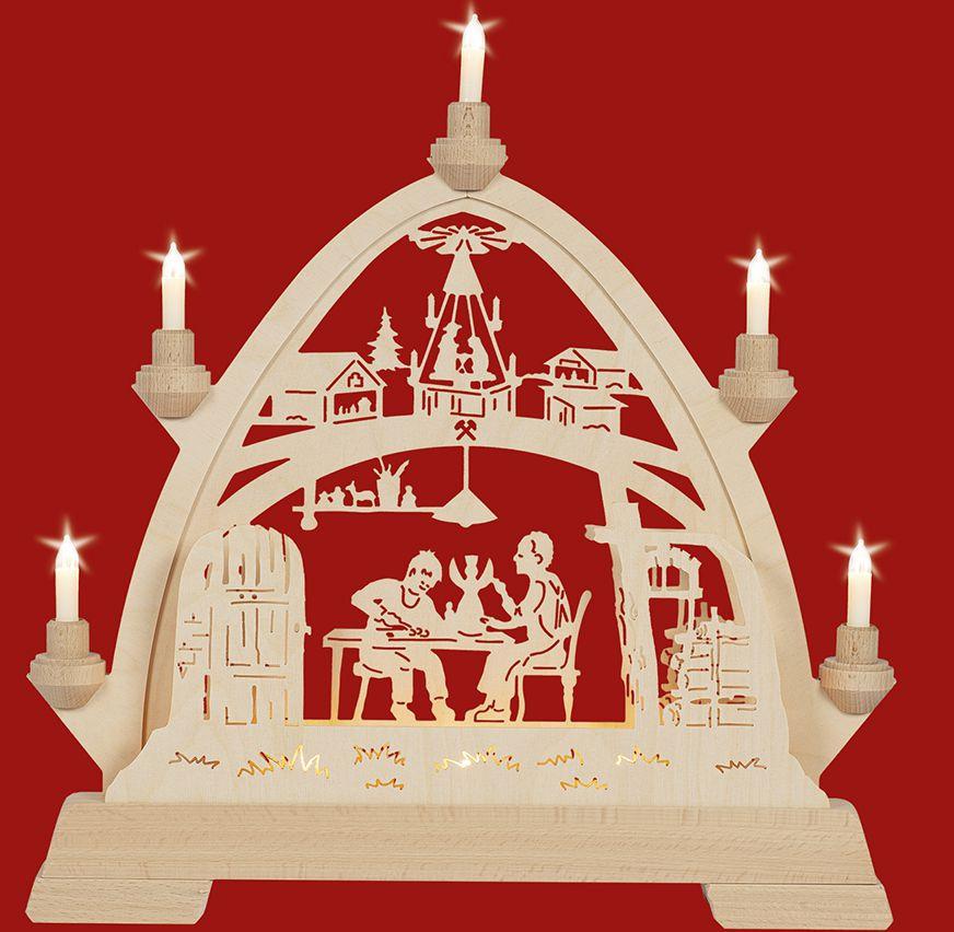 Taulin Gotischer Bogen Weihnachtsstube