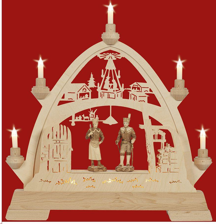 Taulin Gotischer Bogen Weihnachtsstube mit Figuren