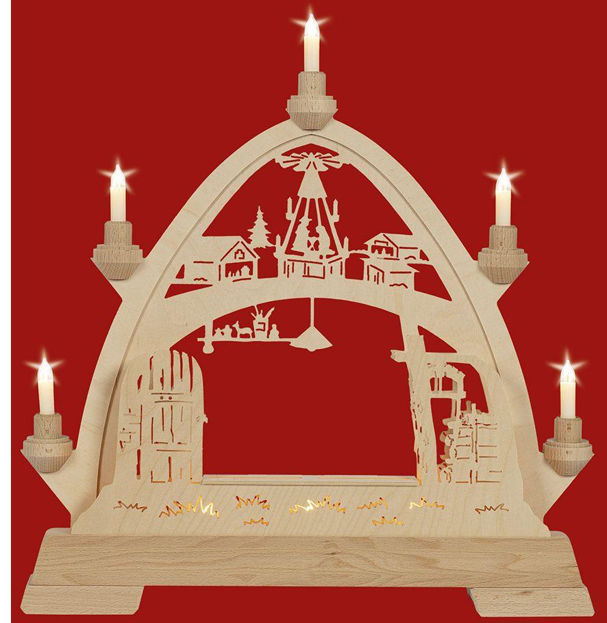 Taulin Gotischer Bogen Weihnachtsstube - Leerbogen