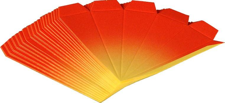 Bastelset 3er-Set Marienberger Adventssterne rot-gelb