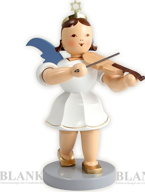 Blank Kurzrockengel mit Violine, 20 cm - farbig