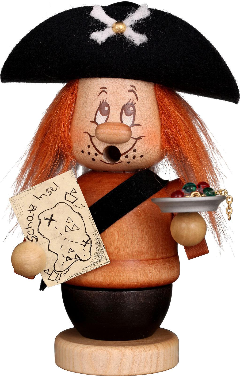 Christian Ulbricht Räuchermann Miniwichtel Pirat