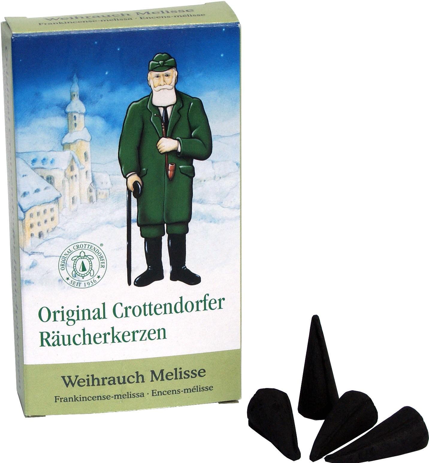 Crottendorfer Räucherkerzen Weihrauch-Melisse