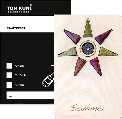 Crottendorfer Tom Kuni Räucherkerzen - Starterset Sommer