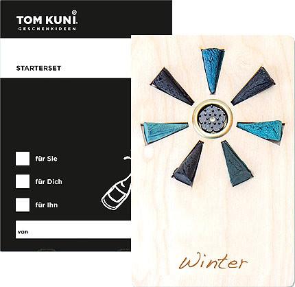 Crottendorfer Tom Kuni Räucherkerzen - Starterset Winter