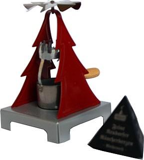 Jürgen Huss Räucherkerzenpyramide, rot