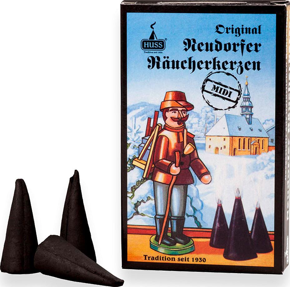 Huss Original Neudorfer Räucherkerzen -Midi- Weihrauch