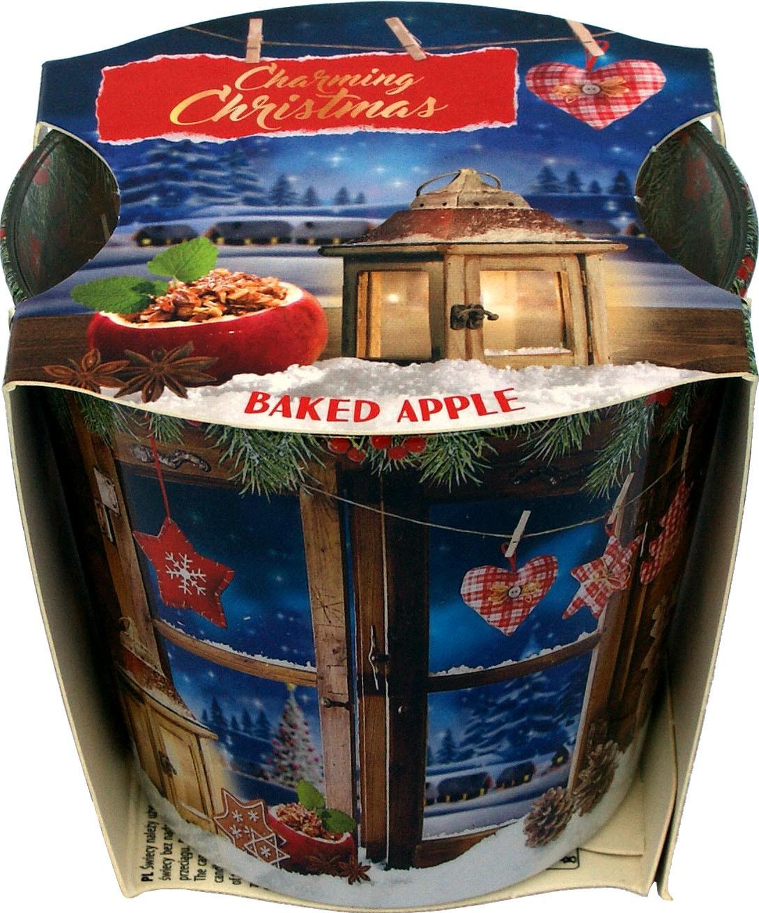 Knox Duftkerze im Glas Charming Christmas - Bratapfel