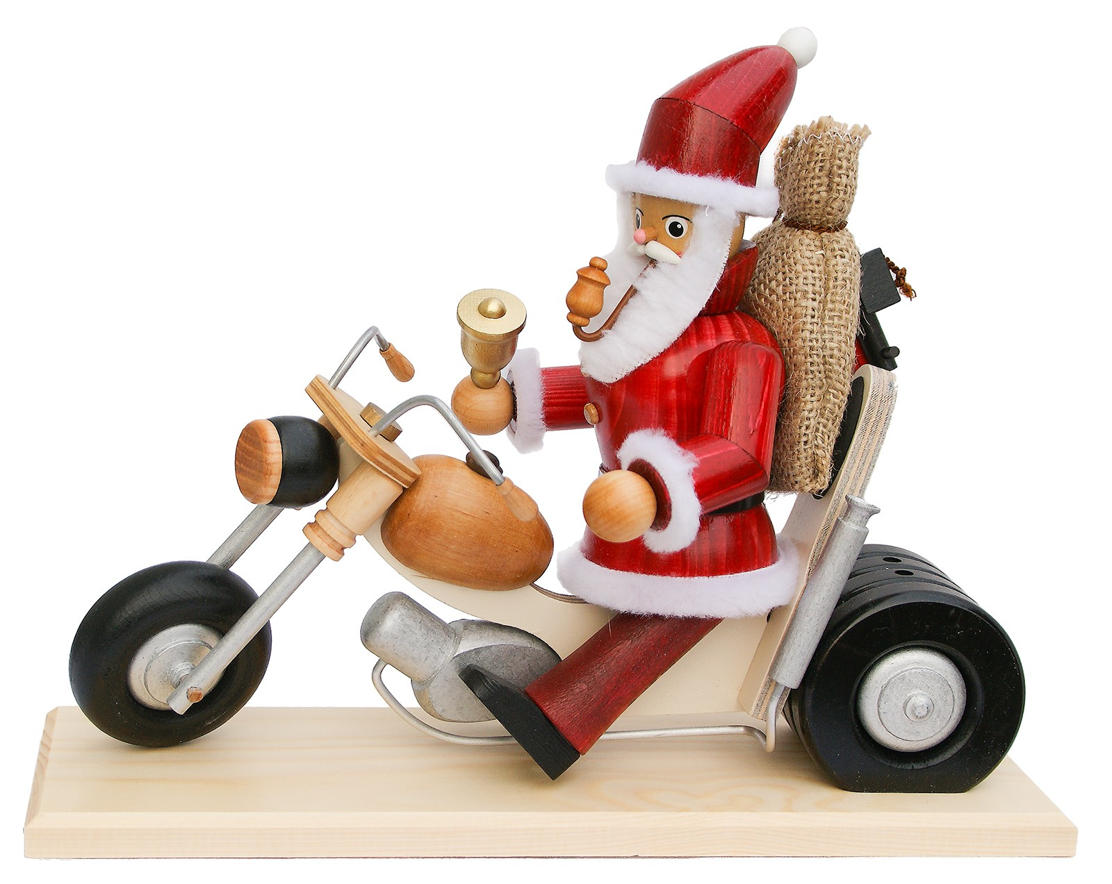 Krauß Räuchermännchen Weihnachtsmann Biker