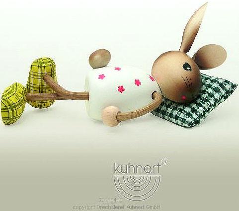 Drechslerei Kuhnert Hase, schlafend