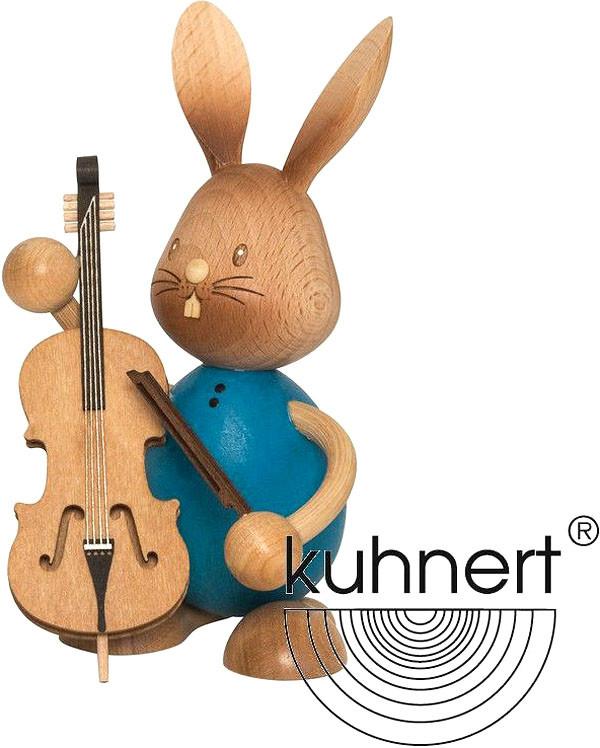 Drechslerei Kuhnert Stupsi Hase mit Bass