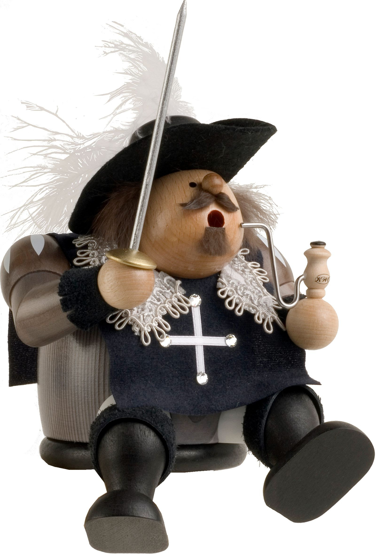 incense smoker, musketeer