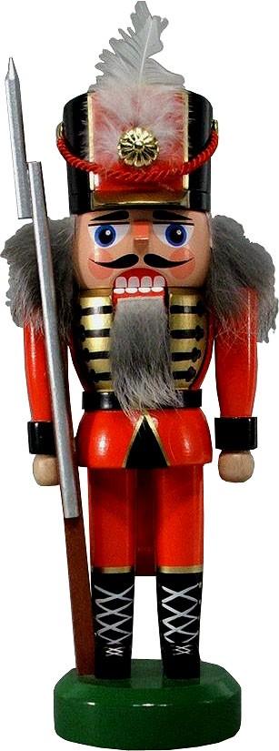 HoDreWa Legler Nussknacker Soldat, rot, 21 cm