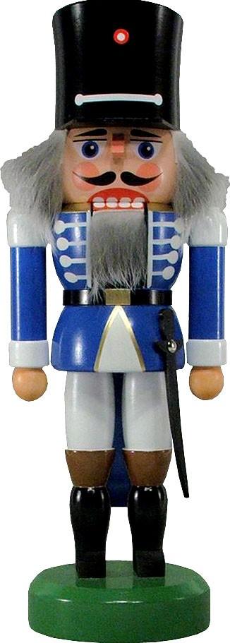 HoDreWa Legler Nussknacker Wachsoldat, blau, 26 cm