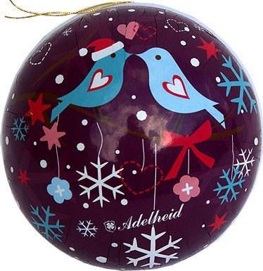 Weihnachtskugeln Winterzauber, 8 cm