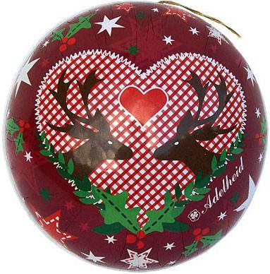 Weihnachtskugel Weihnachtsglück, 8 cm