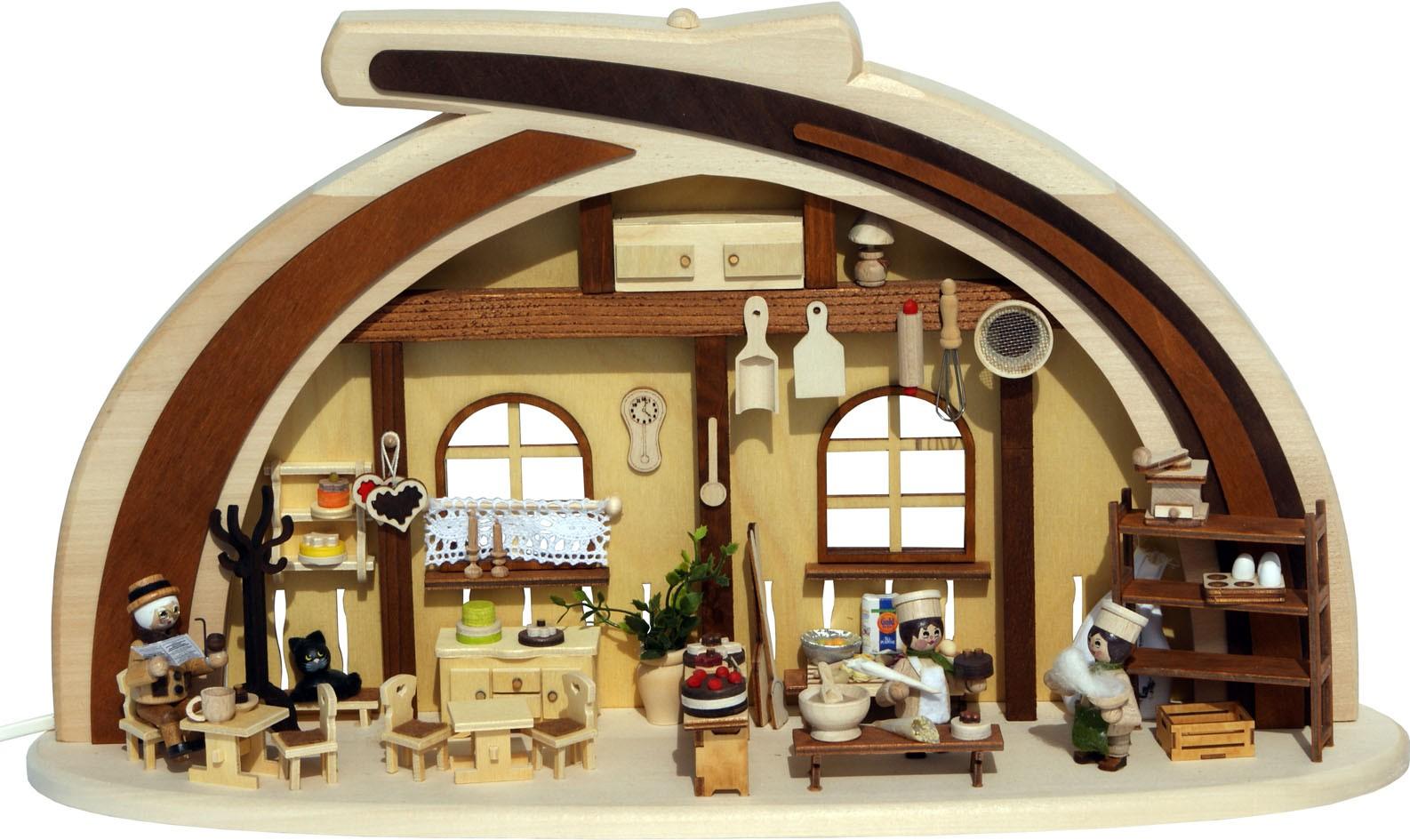 RATAGS Holzdesign Massivholzbogen Cafeteria